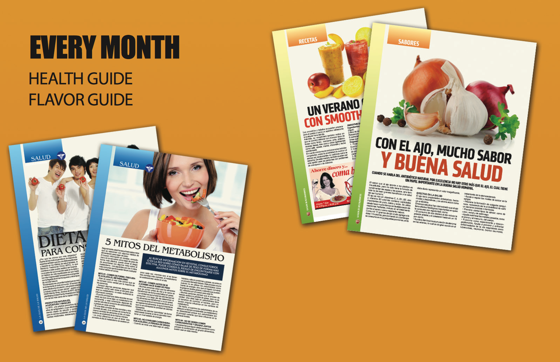 Our Hispanic Magazine in Tampa Bay publishes high quality content in areas of health, food, and entertainment